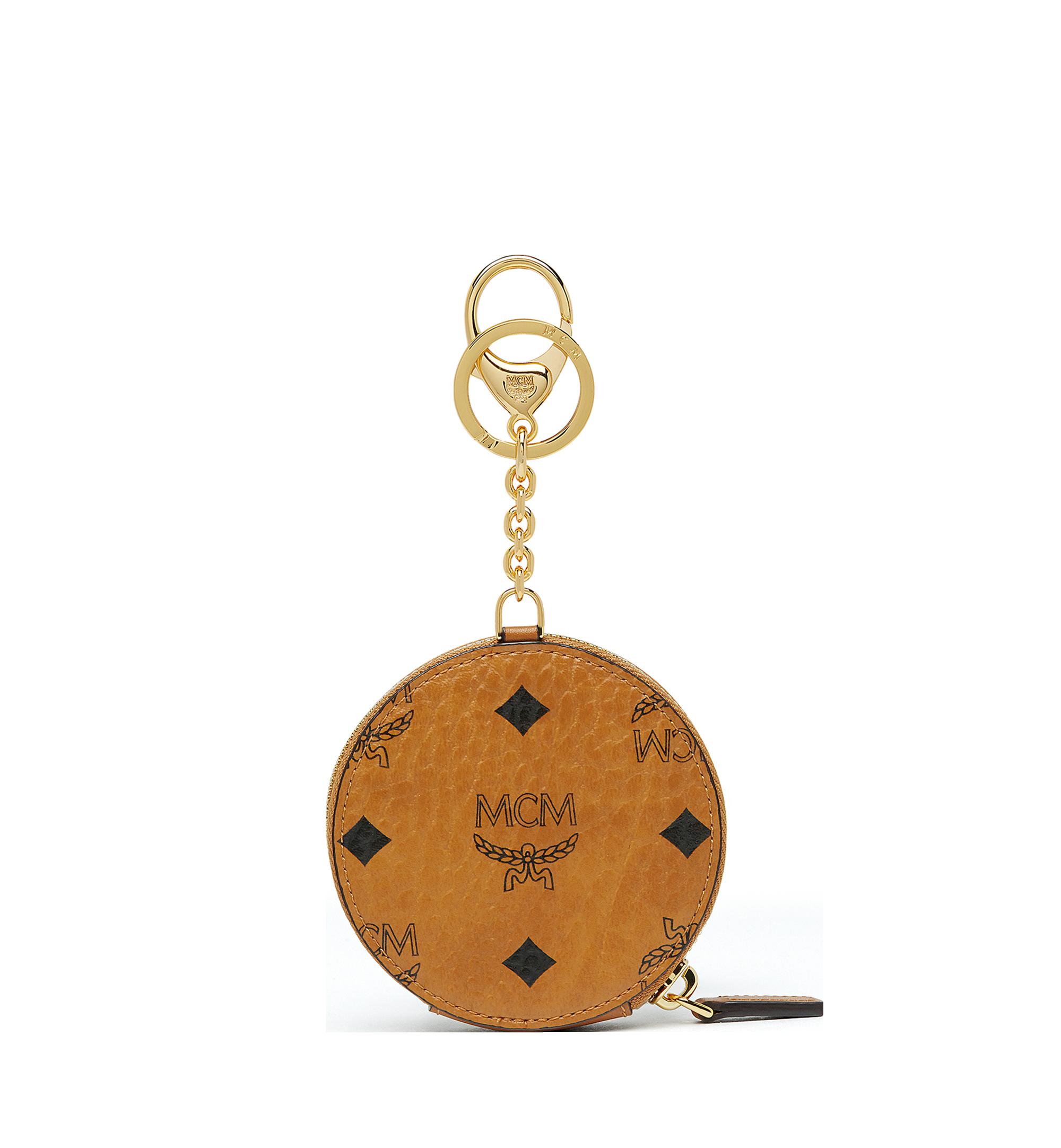 MCM Coin Pouch in Visetos Original Cognac MYIAAVI01CO001 Alternate View 2