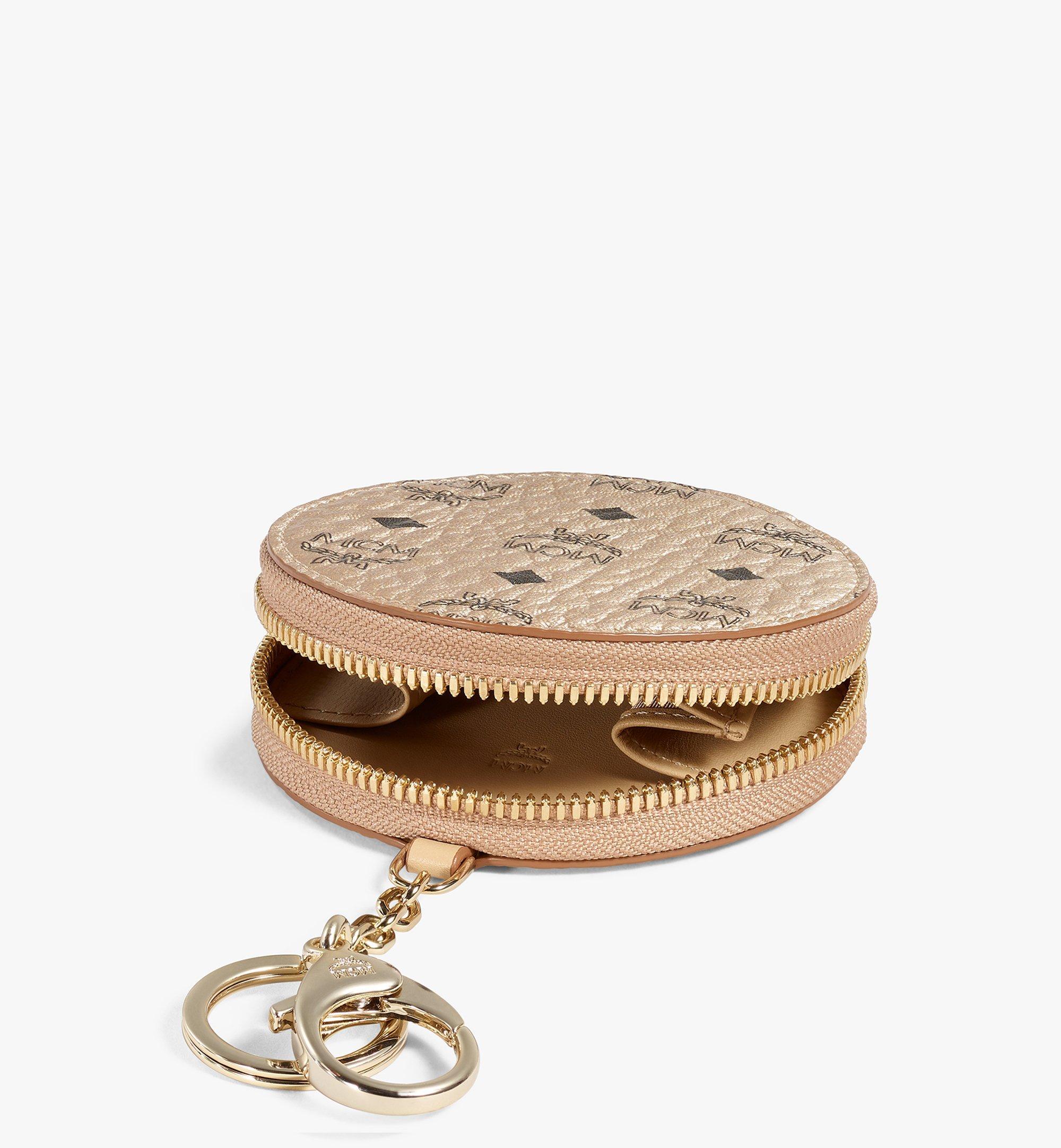 MCM Portemonnaie mit Schlüsselring in Visetos Original Gold MYIAAVI01T1001 Noch mehr sehen 1