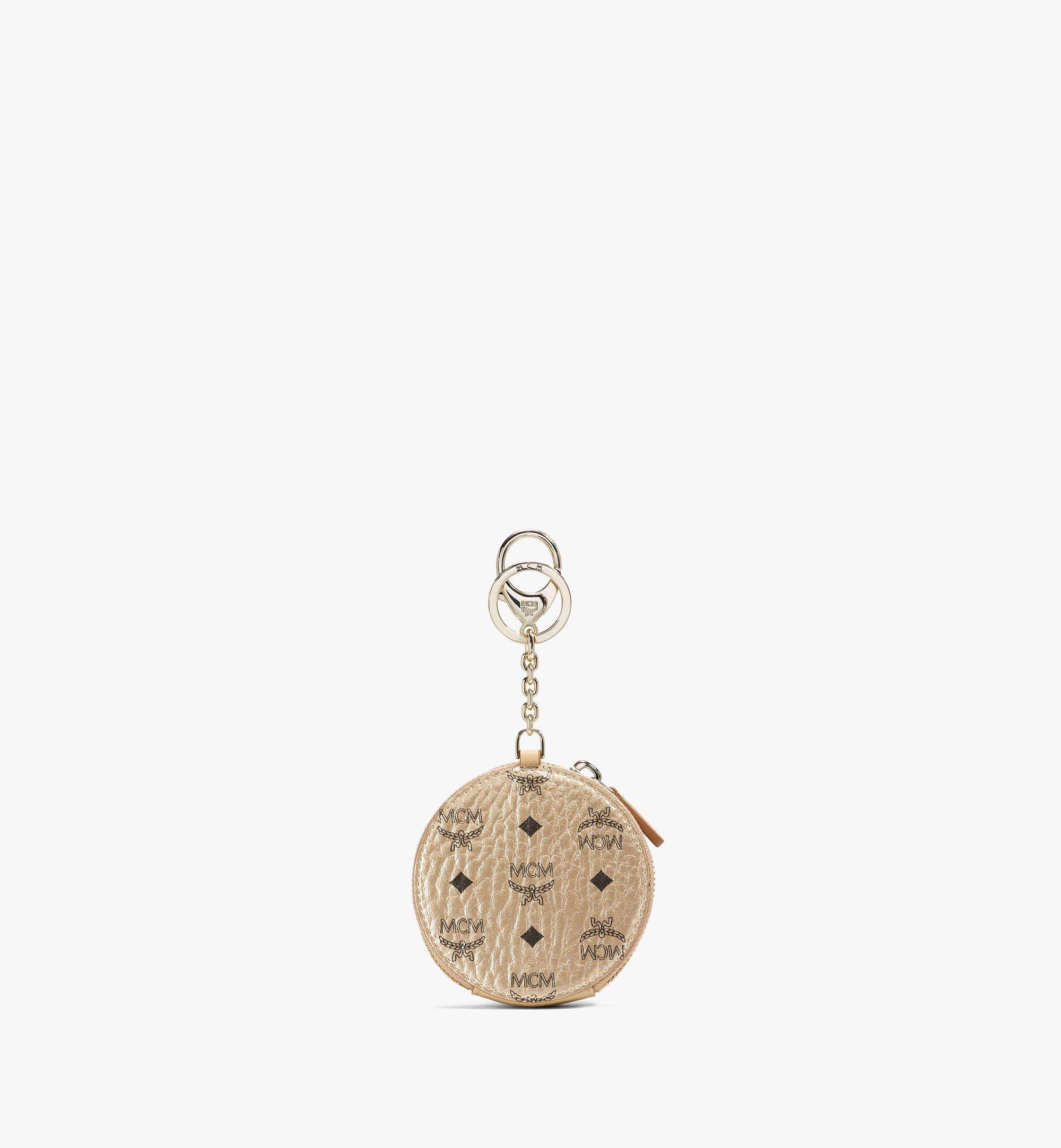 MCM Portemonnaie mit Schlüsselring in Visetos Original Gold MYIAAVI01T1001 Noch mehr sehen 2