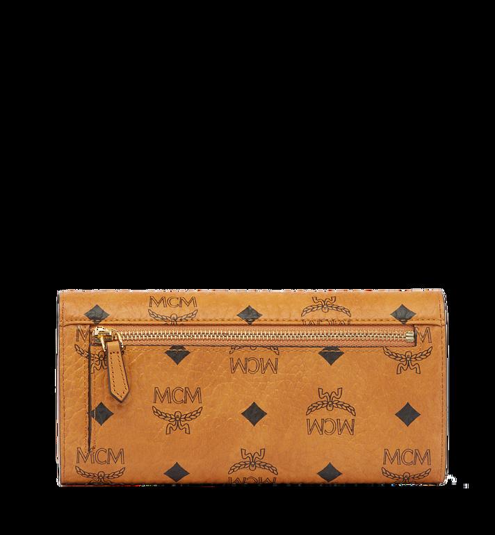 MCM Heritage Three Fold Wallet in Visetos Alternate View 3