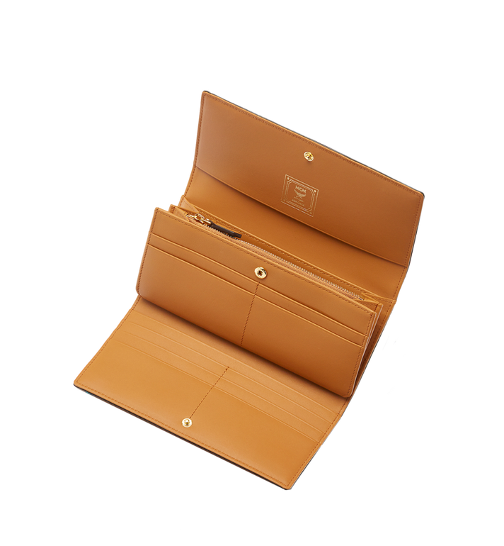 MCM Heritage Three Fold Wallet in Visetos Alternate View 4