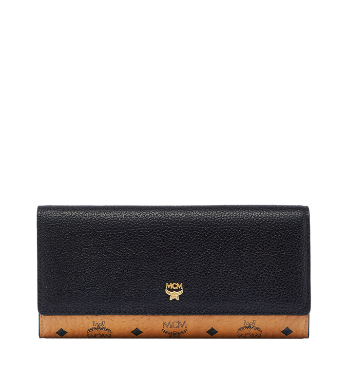 MCM Corina Visetos Three Fold Wallet Alternate View