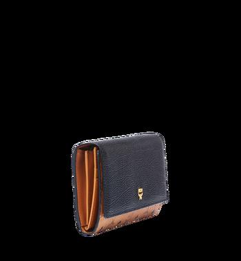 MCM Corina Visetos Three Fold Wallet MYL6SCN14BK001 AlternateView2