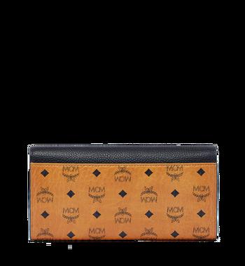 MCM Corina Visetos Three Fold Wallet MYL6SCN14BK001 AlternateView3