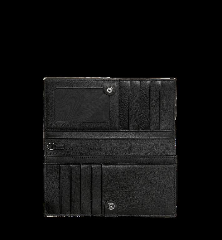 MCM Two Fold Wallet in Monogram Leather Charm MYL8AKM12BK001 AlternateView4
