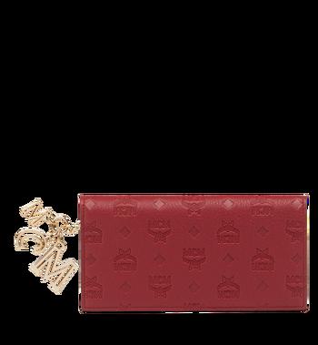 MCM Two Fold Wallet in Monogram Leather Charm MYL8AKM12RY001 AlternateView