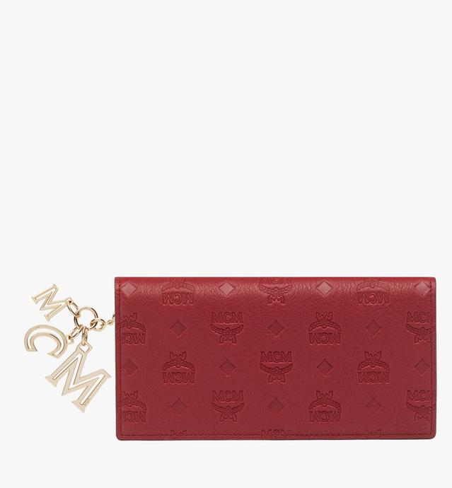 Two Fold Wallet in Monogram Leather Charm