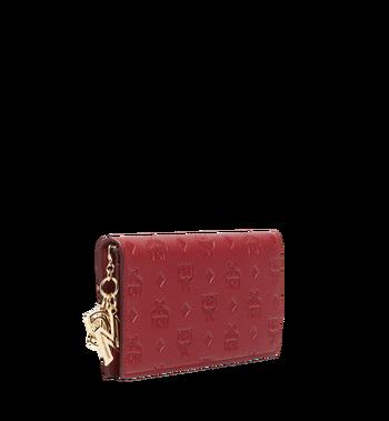 MCM Two Fold Wallet in Monogram Leather Charm MYL8AKM12RY001 AlternateView2