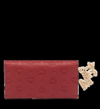 MCM Two Fold Wallet in Monogram Leather Charm MYL8AKM12RY001 AlternateView3