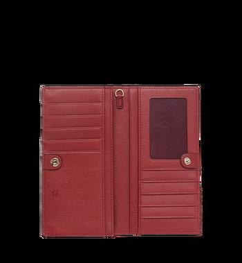 MCM Two Fold Wallet in Monogram Leather Charm MYL8AKM12RY001 AlternateView4