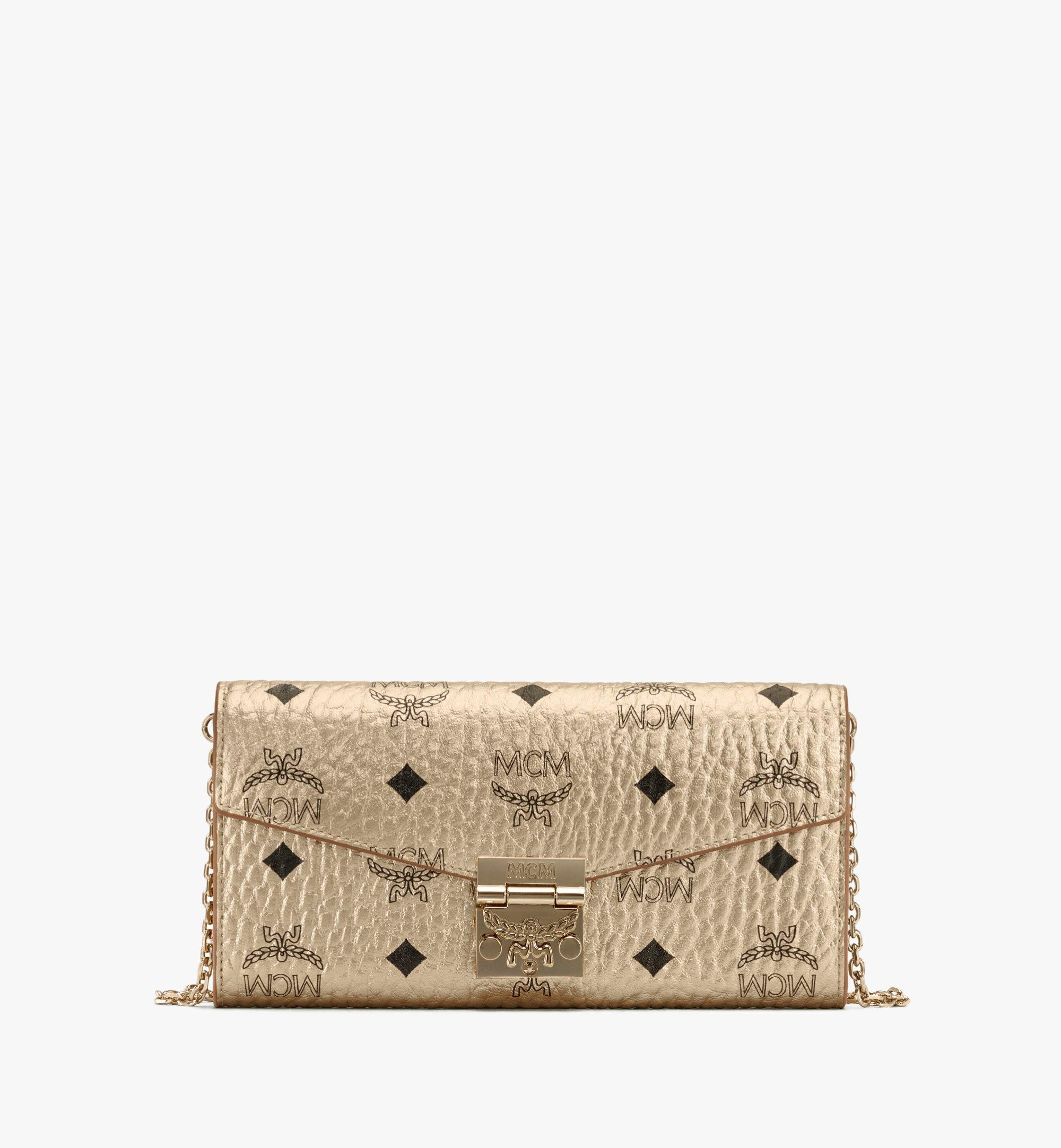Patricia Crossbody Brieftasche in Visetos