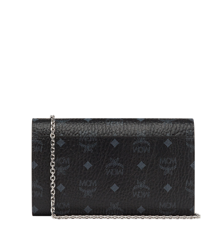 MCM Patricia Continental Crossbody Wallet in Visetos AlternateView4