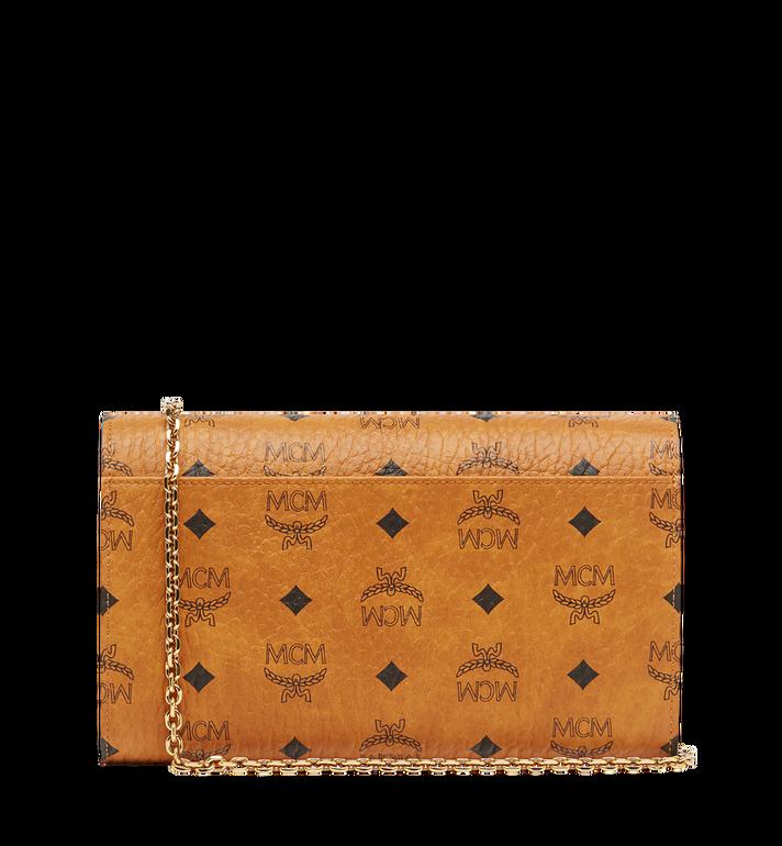MCM Patricia Continental Crossbody Wallet in Visetos Alternate View 4