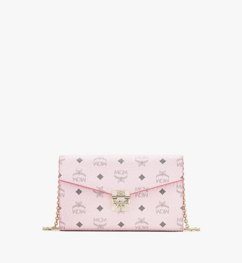 Patricia Continental Crossbody Wallet in Visetos