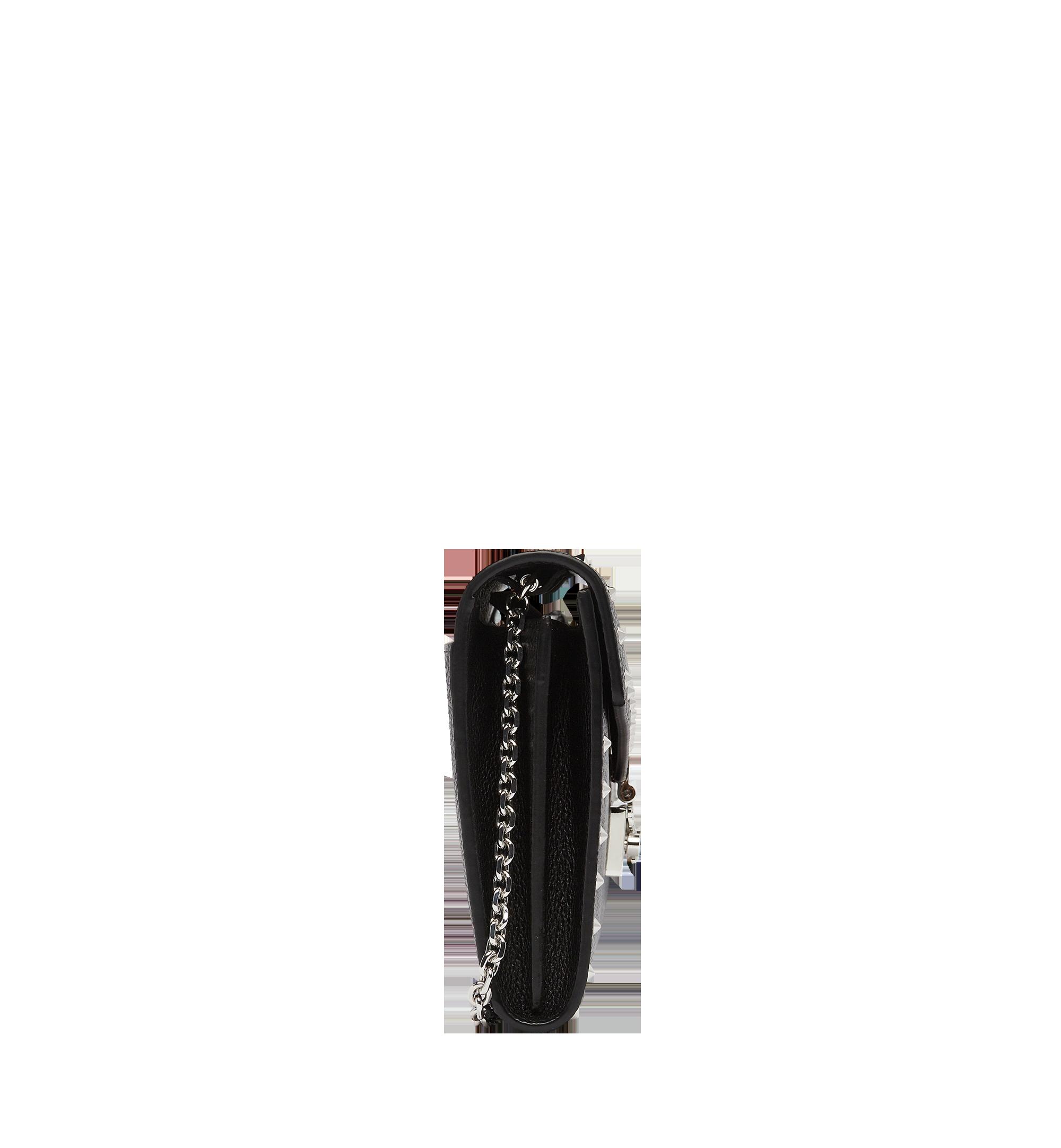 MCM Patricia鉚釘輪廓皮革歐式錢包 Black MYL8APA19BK001 更多視圖 2