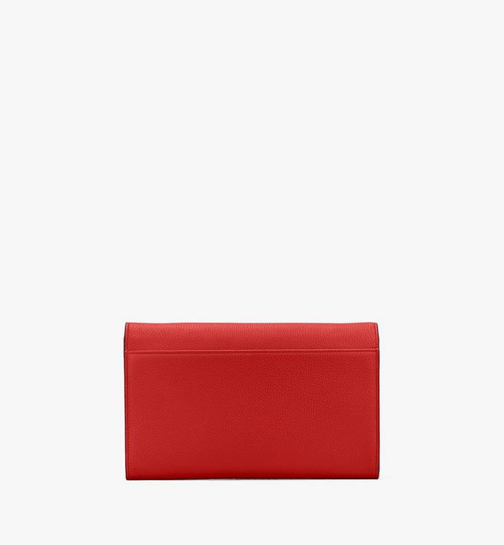 MCM Patricia Crossbody Wallet in Studded Park Ave Leather Red MYL8APA19R4001 Alternate View 2
