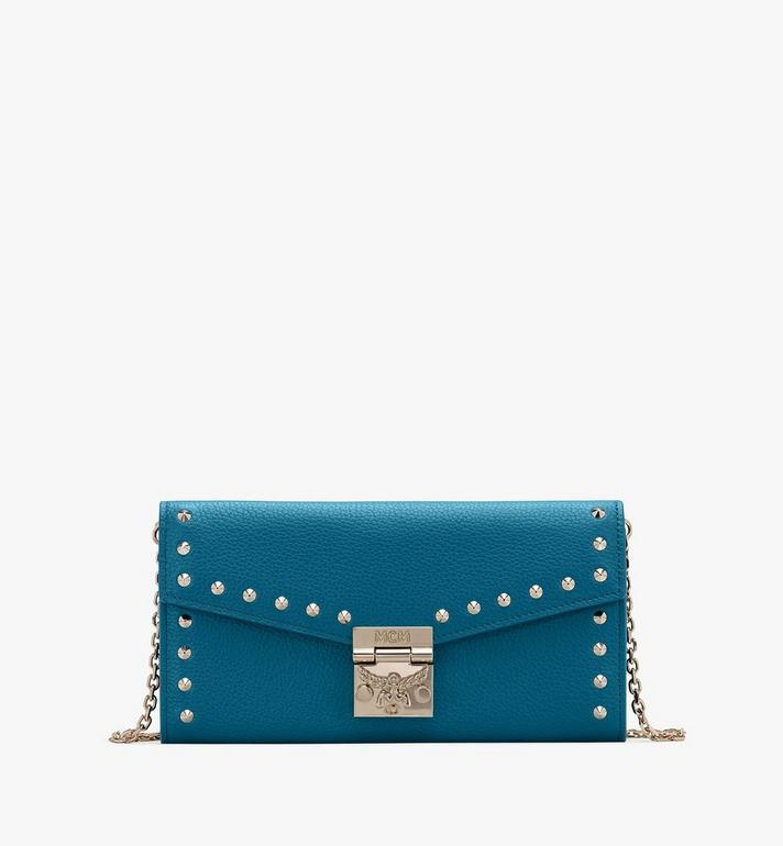 MCM Patricia Crossbody Wallet in Studded Park Ave Leather Alternate View