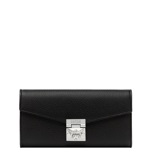 Patricia Crossbody Wallet in Grained Leather