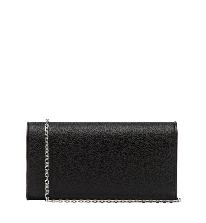MCM Patricia Crossbody Wallet in Grained Leather Black MYL8APA41BK001 Alternate View 3