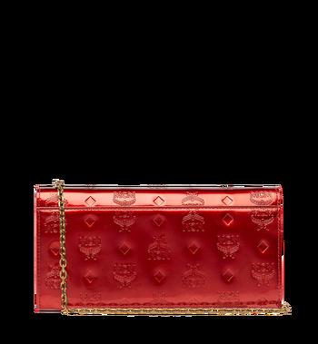 MCM Patricia Crossbody Wallet in Patent Leather MYL8APA81RU001 AlternateView3