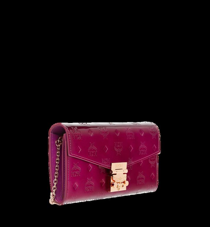 MCM Patricia Crossbody Wallet in Patent Leather MYL8APA81UK001 AlternateView2