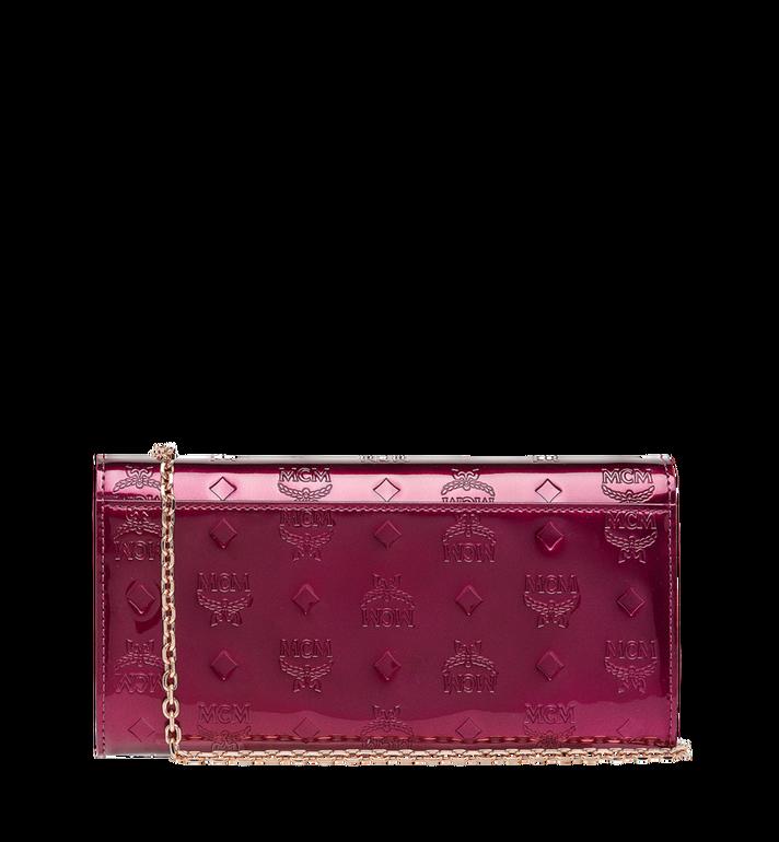 MCM Patricia Crossbody Wallet in Patent Leather MYL8APA81UK001 AlternateView3