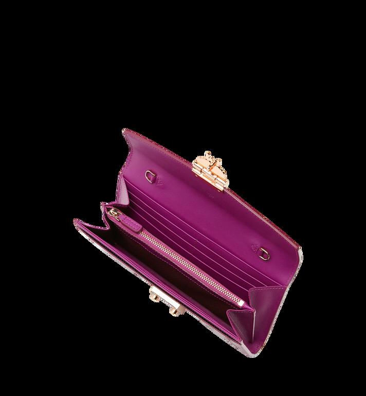 MCM Patricia Crossbody Wallet in Patent Leather MYL8APA81UK001 AlternateView4
