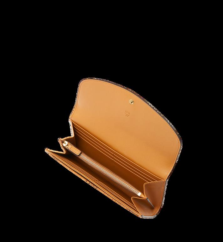 MCM Two Fold Wallet in Visetos Leather Block MYL8AVI13RU001 AlternateView4