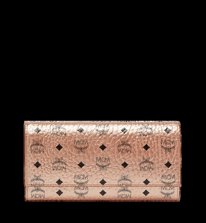 MCM Three Fold Wallet in Visetos Original Alternate View