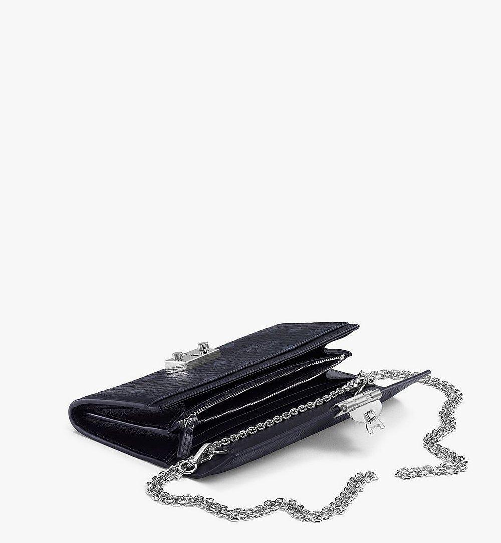 MCM Patricia Crossbody Wallet in Visetos Black MYL8SPA11BK001 Alternate View 1