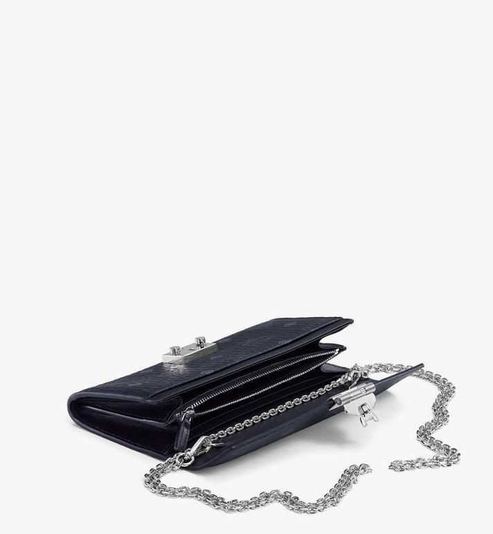MCM Patricia Crossbody Wallet in Visetos MYL8SPA11BK001 AlternateView3
