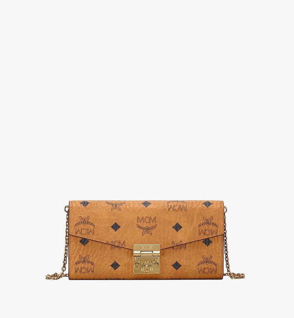 MCM Patricia Crossbody-Brieftasche in Visetos Cognac MYL8SPA11CO001 Noch mehr sehen 1