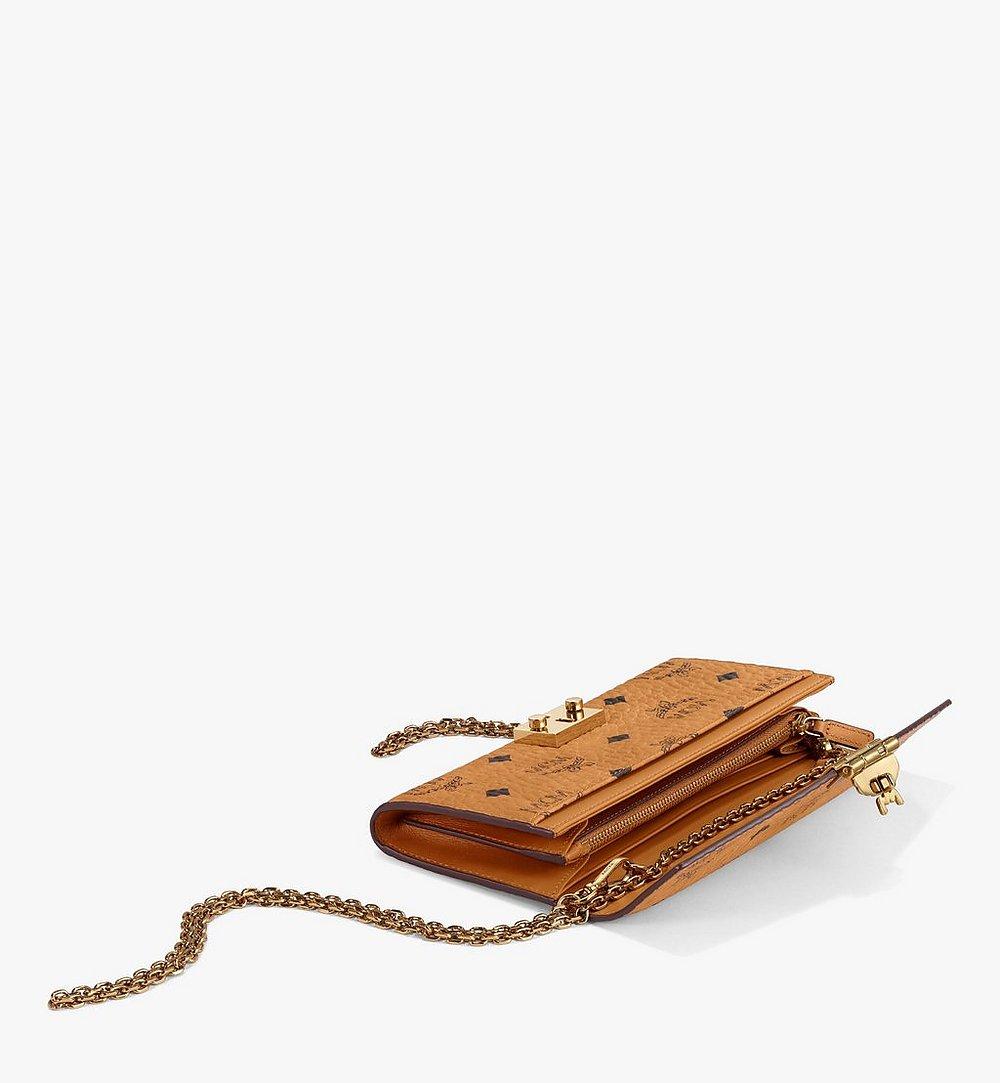 MCM Patricia Crossbody-Brieftasche in Visetos Cognac MYL8SPA11CO001 Noch mehr sehen 2