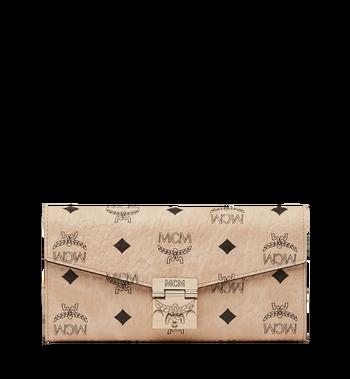 MCM 〈パトリシア〉チェーン付 ヴィセトス 二つ折りウォレット Alternate View