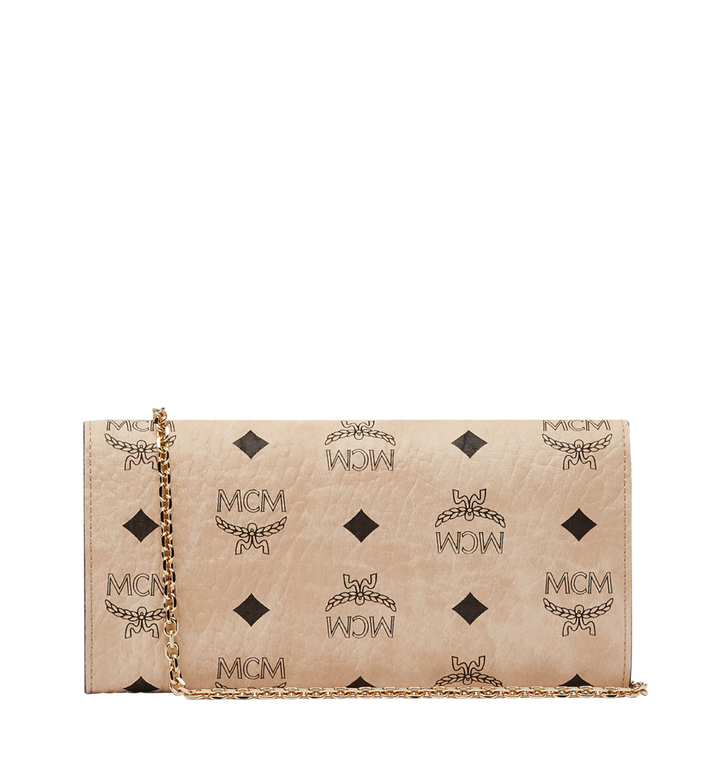 MCM Patricia Crossbody Wallet in Visetos Beige MYL8SPA11IG001 Alternate View 3