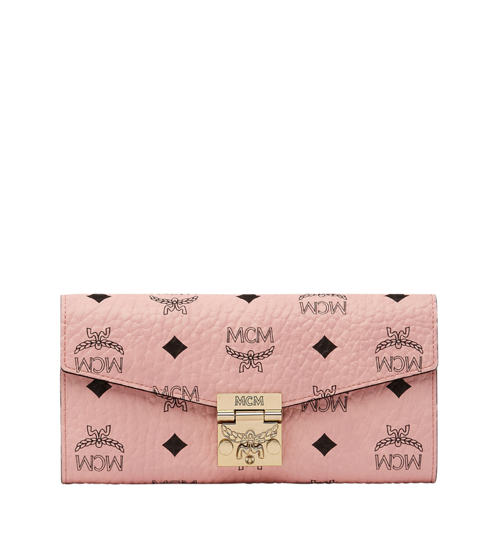 MCM Patricia Crossbody Wallet in Visetos Alternate View