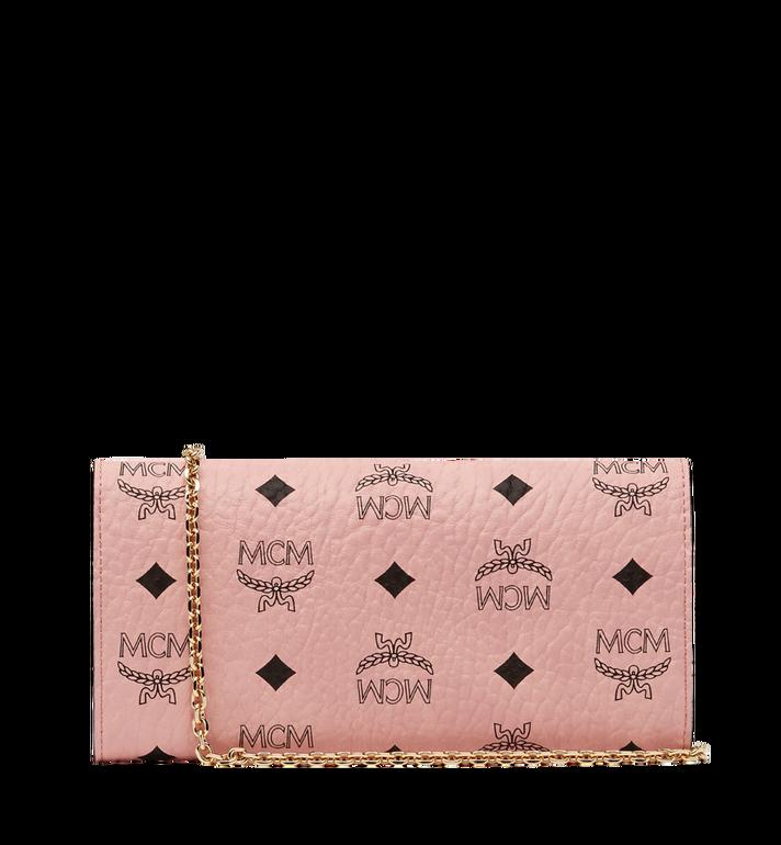 MCM Patricia Crossbody Wallet in Visetos AlternateView3