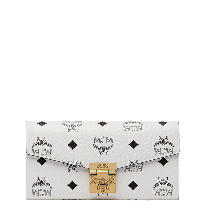MCM Patricia Crossbody Wallet in Visetos Alternate View