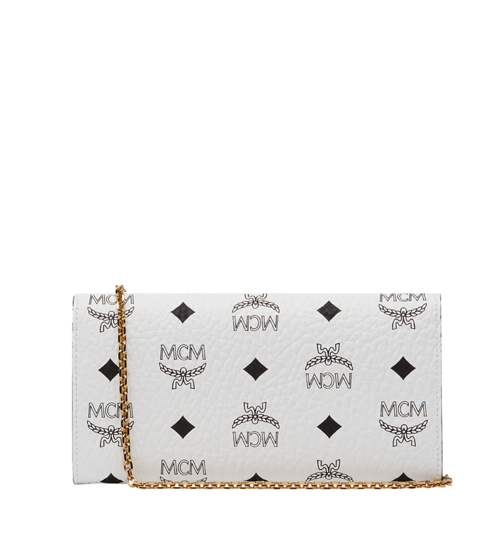 MCM Patricia Crossbody Wallet in Visetos Alternate View 3