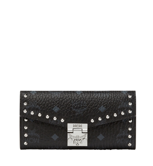 Patricia Studded Crossbody Wallet in Visetos