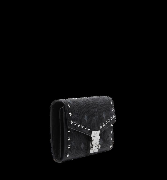 MCM Patricia Studded Crossbody Wallet in Visetos Black MYL8SPA30BK001 Alternate View 2