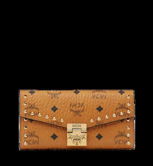 Patricia Crossbody-Brieftasche mit Nieten in Visetos