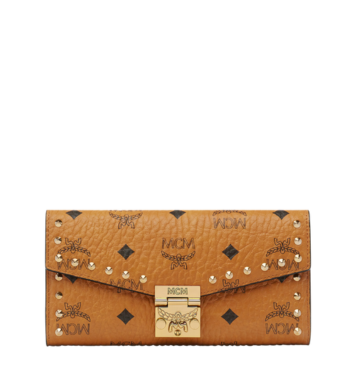 Patricia Two-Fold Wallet in Studded Visetos