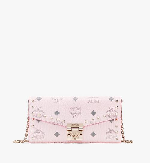 Patricia Crossbody Wallet in Studded Visetos