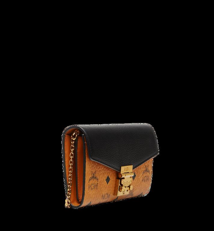 MCM Patricia Crossbody Wallet in Visetos Leather Block AlternateView2