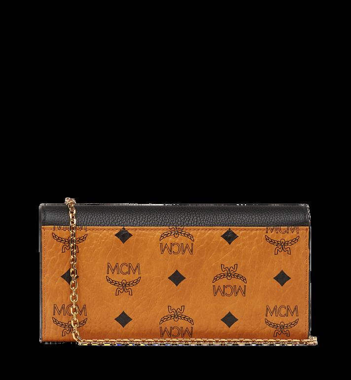 MCM Patricia Crossbody Wallet in Visetos Leather Block AlternateView3