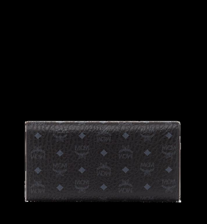 MCM Three Fold Wallet in Visetos Original MYL8SVI48BK001 AlternateView3
