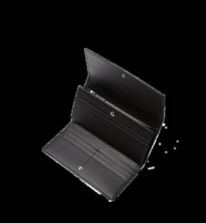 MCM Three Fold Wallet in Visetos Original Black MYL8SVI48BK001 Alternate View 4