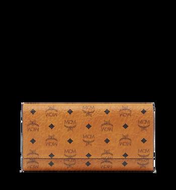 MCM Three Fold Wallet in Visetos Original MYL8SVI48CO001 AlternateView