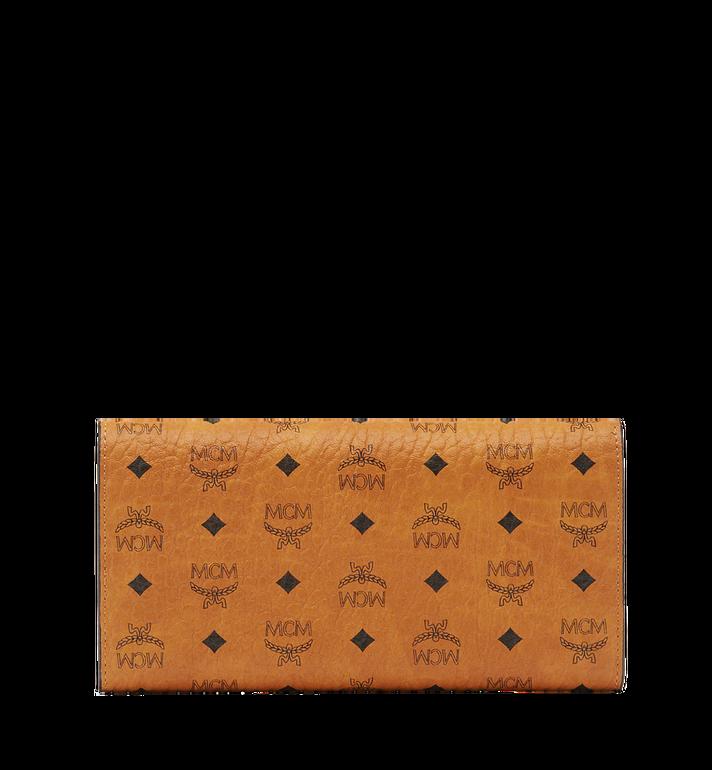 MCM Three Fold Wallet in Visetos Original Cognac MYL8SVI48CO001 Alternate View 3